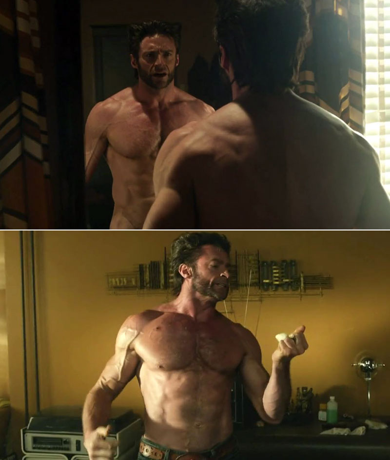hugh-jackman-naked-in-the-x-men-sexy-gymnast-skirt