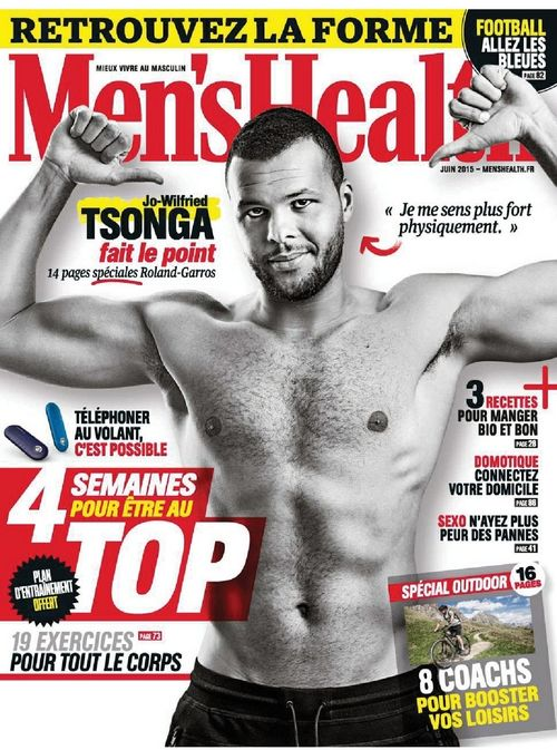 Men's Health N°75 couv