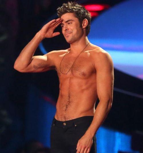 Zac efron shirtless3
